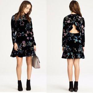 Rebecca Minkoff Steffy Velvet Dress NWOT